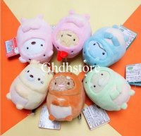 Wholesale dinosaurs movies resale online - Top New Styles quot CM Dinosaur Sumikko Plush Doll Anime Collectible Keychains Pendants Party Gifts Stuffed Soft Toys