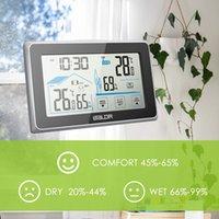 medidor de termómetro al por mayor-Baldr digital inalámbrico temperatura exterior medidor de humedad medidor termómetro higrómetro