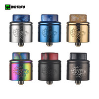 Wotofo Profile 1.5 RDA Tank Atomizer Top Filling Squonk Apply with nexMESH Coils For 510 Threading Box Mod 100% Authentic