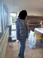 casacos com capuz para as mulheres venda por atacado-Wen Designer Jacket Brasão Coletes para baixo com capuz Luminous impermeável para homens e mulheres Marca Windbreaker luxo Hoodie Jacket Grosso