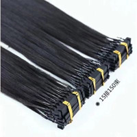 Wholesale per hair resale online - 100 Human Brazilian Hair d prebonded Hair Extension with Length g per strand g s per FREE DHL