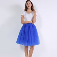 026a62650e Wholesale plus size tulle skirt for sale - Group buy 7 Layered Tulle Skirts  Womens High