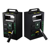 sterben kit großhandel-Authentische Kolophonium DAB-Pressmaschine von LTQ Vapor 4 Tonnen Druck auf die Klemme einstellbare Heiztemperatur Tragbares Extraktionswerkzeug-Kit
