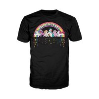 Wholesale my little pony for sale - My Little Pony Retro Badge Official Adults T Shirt Original Classic s TV Show Men T Shirt Top Quality Cotton Hip Hop tees