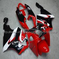 siyah kırmızı zx7r kaplama toptan satış-23 renkler + Botts Kawasaki ZX-7R için kırmızı siyah motosiklet gövde 1996 1997 1998 1999 2000 2001 2002 2003 ABS Plastik motor kaporta