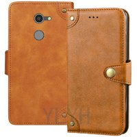 Wholesale alcatel inch phone for sale – best YLYH TPU Silicone Protect Leather Rubber Gel Cover Phone Case For Optus Alcatel A3 G inch Magnetic Business Pouch Shell Wallet Etui Skin