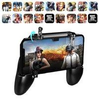 manipulado venda por atacado-W11 + Jogo Gamepad Móvel Lidar Com o Caso Do Telefone Móvel Shell Gamepad Titular Joystick Fire Trigger All in One para Celular