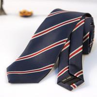 ingrosso legami floreali blu-6cm uomini camuffamento blu classico cravatte per sposo sottile a righe floreali cravatte per cravatta matrimonio magro cravatta sposo per gli uomini