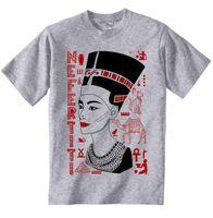 schlechtes mannt-shirt großhandel-NEFERTITI - NEUE BAUMWOLLE GRAU GRAU TSHIRT Männer T-shirt Kurzarm Print Lässig Brechen Bad Print T-shirt Für Männer 2018