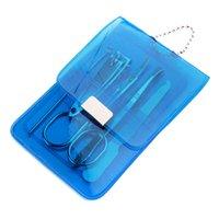 freies verschiffen nagel liefert großhandel-Professionelle Maniküre Set Nagelknipser Schere Reinigungswerkzeug Kit Party Favor Förderung Souvenir Geschenk Freies Verschiffen