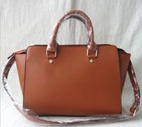 Wholesale swing patterns resale online - Classic Luxury Ladies Swing Tote Smiley Pack Cross Pattern Contrast Genuine Leather Leather Designer One Shoulder Bat Bag Wallet Boston Tote