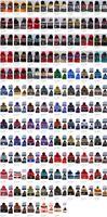 siyah bobble şapka toptan satış-Kış 101 stilleri NHL Akçaağaç Yaprakları Kadınlar Kış Örme Yün Blackhawks Penguenler El ilanları Köpekbalıkları Beanies Erkekler HipHop Beanie Caps Sıcak Şapka