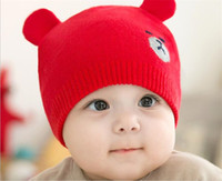 8e7a7f0cb90 Hot sale Korean version of the new knitted children s cap for autumn and  winter cute cartoon bear ear wool baby cap. US   2.76 - 3.51   Piece. Free  Shipping