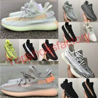 Wholesale high quality sneakers resale online - 2019 New Static M Reflective Shoes Cheap Belgua Semi Frozen Yellow Shoes High Quality Designer Men Women Trainer Sneakers Eur