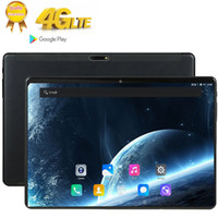 Wholesale gps tab resale online - 10 Inch Tablet Pc Deca Core RAM GB ROM GB IPS G Lte Phone Call Tab Wifi GPS Bluetooth Android Tablets X1600