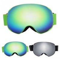 kayak gözlüğü çift cam toptan satış-Benice Kayak Gözlükler Kar Çift Katmanlı Objektif Anti-sis UV Koruma Gözlükleri Snowboard Paten Gözlükler Kayak Gözlük Spor