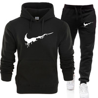 hoodies conçus par les hommes achat en gros de-2019 nouveaux survêtements pour hommes Sweats à capuche + sweatpants marque de la marque Hoodie pour homme / femme Casual Harajuku Warm Fleece Hooded Pullover