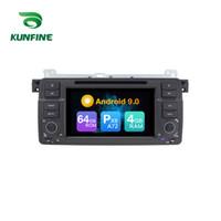 ingrosso gps per la serie bmw-Android 9.0 Core PX6 A72 Ram 4G Rom 64G GPS per auto lettore multimediale per auto stereo per BMW Serie 3 / M3 / MGZT 7 / ROVER75 Radio Headunit