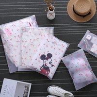 ingrosso scatole di viaggio di trucco-Fashion Flamingo Trasparente Cosmetic Bag Travel Zipper Make Up Case Organizer Storage Kit di lavaggio Box Makeup Pouch Toiletry Beauty