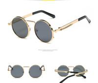 vintage universal venda por atacado-Doce Rodada Óculos De Sol Das Mulheres Dos Homens Espelho Círculo Do Vintage óculos de Sol Retro Colorido retro óculos de sol primavera espelho pernas universal também óculos