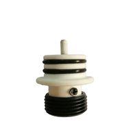 vape wachskopfspulen großhandel-Austauschbare Power Head Keramikzerstäuber Heizspirale Basis Für G9 Greenlightvapes TC Port Wax Rig Dab Pen Verdampfer Vape Zubehör
