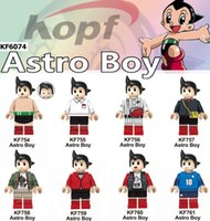 Wholesale blossom toys resale online - Flying Policeman Movie Blossom Buttercup Bubbles Astro Boy Kids Model Toys KF6074