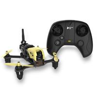 ingrosso telaio in fibra di carbonio fpv-HUBSAN H122D Kit telaio X4 Mini RC Racing Drone 5.8G FPV 720P Videocamera HD Coreless Motori Telaio in fibra di carbonio Micro Quadcopter