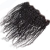 волнистые девственные индийские remy волосы оптовых-Виргинские индийские перуанские китайские человеческие волосы лобные волнистые прямые вьющиеся 13x4 кружева фронтальное закрытие 100% Remy малайзии бразильские монгольские волосы
