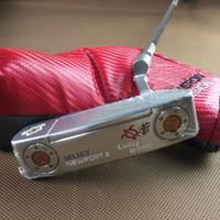 palos de golf de calidad al por mayor-QYZ Golf putter NEWPORT 2 Golden turtle Golf Clubs 32-36 pulgadas Golf Club Cubierta de cabeza de alta calidad envío gratis.