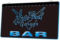 Wholesale neon rods resale online - LS1260 b BAR Hot Rod Garage Neon Light Sign jpg Decor Dropshipping colors to choose