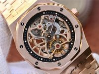 uhren wasserdicht stoßfest großhandel-Herren wristwatches.fashion Uhren, 2924 manuelle obere Ketten Bewegung, Bewegung Uhren, 41mm, Tiefe wasserdicht, stoßfest, Designer-Uhren