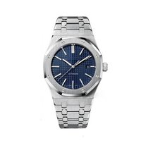 Wholesale folding glasses for sale resale online - Hot Sale Luxury Watch For Men Automatic Movement ROYAL OAK Mens Watches Stainless Steel Sapphire Glass Mechanical Wristwatches