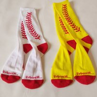 calcetines de tubo para adultos al por mayor-Calcetines transpirables de fibra de poliéster para adultos de verano Medias de béisbol de medio tubo para hombre Calcetines Calcetines deportivos de ocio Favor de partido T2B5012