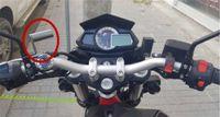 универсальное крепление для фар оптовых-Универсальный мотоцикл модифицированный фары зеркало заднего вида крепление многофункциональный кронштейн зарядное устройство мобильного телефона