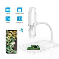 Wholesale industrial electronic for sale - Group buy 1080P HD wifi electronic microscope x digital magnifying glass USB industrial microscope tool With Scale