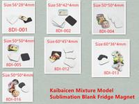 Factory Price Sublimation Blank Fridge Magnet 7 Shapes Refrigerator Magnets Kids gift Home Decoration