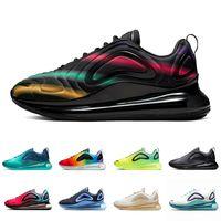 herren sportschuhmarken großhandel-Nike air max 720 airmax shoes  Bold Branding Volt Obsidian Sea Forest KPU OG Running shoes for men women Triple black Mens trainers University Red Sports sneakers 36-45