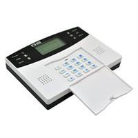 Wholesale gsm wireless alarm smoke detector for sale - Group buy Wireless GSM SMS Home Burglar Security Alarm System Detector Sensor Call EU Plug