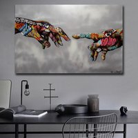 Wholesale urban art paintings for sale - Group buy Graffiti Art Poster Print Painting Street Art Urban on Canvas Hand Wall Pictures for Living Room Home Decor