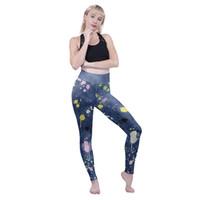 arte de leggastes impressos venda por atacado-Meninas Cintura Alta Leggings Art Student 3D Digital Completa Impressão de Fitness Calças de Yoga Mulheres Treino Lápis Calças Senhora Comprimento Jeggings (Y52665)