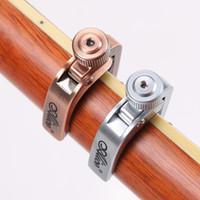 ukulele tuning großhandel-Elektrische Akustikgitarre Capo Bass Violine Ukulele Capotraste Einhand Tune Clamp Trigger