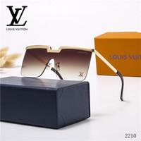Wholesale glasses protect resale online - New mens sunglasses men sunglasses attitude sun Louîs Vuittõn glasses fashion style protects eyes Gafas de sol lunettes de soleil with