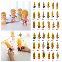 trump kleider großhandel-38 Arten Donald Trump Action-figuren Puppe USA Präsident John Trump Gekleidet Modell Kinder Kinder Hand Spielen Lustige Neuheit Spielzeug LJJA2275