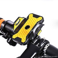 держатели для мобильных телефонов для велосипедов оптовых-Мотоцикл велосипед Велосипед руль Держатель для Ipod сотовый телефон GPS стенд держатель для iphone samsung