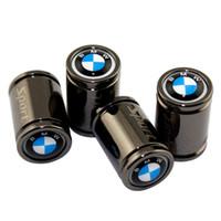 x6 dekoration großhandel-Für BMW M6 M8 X1 X3 X4 X5 X6 Z3 Z4 I3 G8 G38 F01 Motorradkappe Metall Styling Außen Auto Dekoration Rad Reifen Ventildeckel