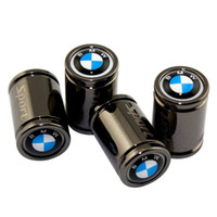 tapas de válvulas de neumáticos de metal al por mayor-Para BMW M6 M8 X1 X3 X4 X5 X6 Z3 Z4 I3 I8 G30 G38 F01 Gorra de moto Estilo de metal Exterior Coche Cubierta de la válvula del neumático de la rueda