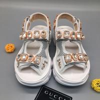 resbalones de ladrillo al por mayor-2019 nuevas sandalias de verano para mujer de ladrillos de cristal antideslizantes zapatillas de secado rápido para diseñador de moda para mujer