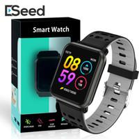 rastreador de manzana al por mayor-P11 reloj inteligente deporte de la aptitud de seguimiento de reloj inteligente Hart Tasa PK N88 SmartWatch para DZ09 reloj de manzana con el paquete
