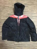 moda ceket kanatları toptan satış-Kış Sıcak Ceket Erkekler Kadınlar Moda Uzun Kollu Ceket Hip Hop Kanat Giyim Ceket Boyutu S-XL