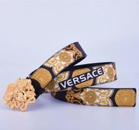 Wholesale plastic buckle belts for men for sale - Group buy 2020 Luxury Belts Men Women Belts Male Waist Strap Genuine Leather Alloy Buckle Belt For G6 Versace belt